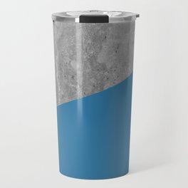 Geometry 101 Saltwater Taffy Teal Travel Mug