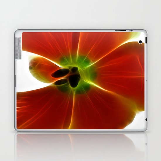 Fractal Tulip Laptop & iPad Skin