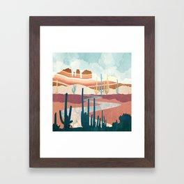 Desert Vista Framed Art Print