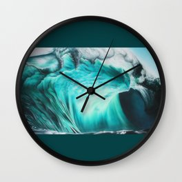 Imogen Wave Wall Clock