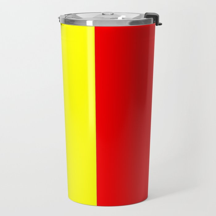 Flag of romania 2 -romania,romanian,balkan,bucharest,danube,romani,romana,bucuresti Travel Mug