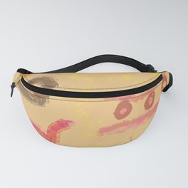 Abstract Sunset Shapes  Fanny Pack