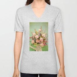 Floral Fashions II Unisex V-Neck