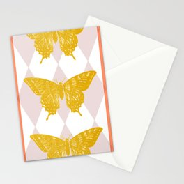 Honey Swallowtail Butterfly Stationery Cards
