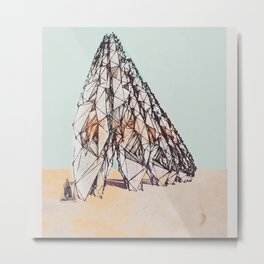 The Bedouins Tent Metal Print