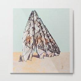 The Bedouins Tent Metal Print