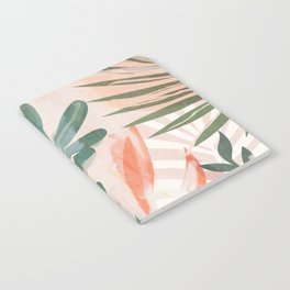 Tropical Leaves 4 Notebook