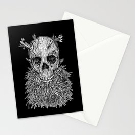 Lumbermancer B/W Stationery Cards