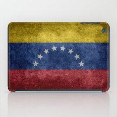 The national flag of the Bolivarian Republic of Venezuela -  Vintage version iPad Case