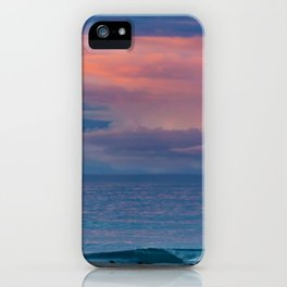 Pastel Sunrise in the Clouds iPhone Case