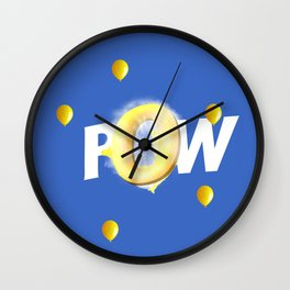 ONMTP - BIG POW Wall Clock