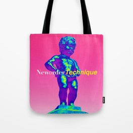 NewOrder Manneken Pis Technique Tote Bag