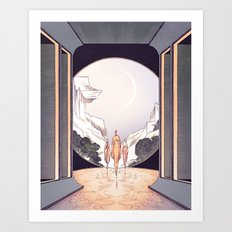 The Heights of Ease Art Print