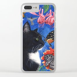 Meowse's Dream Clear iPhone Case