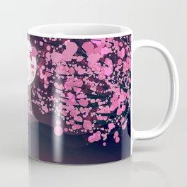 Swans and Cherry Blossoms Coffee Mug
