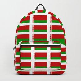 flag of belarus -Беларусь,Белоруссия,Belarus,Belarusian,Minsk. Backpack