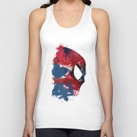 photographer Tank Tops featuring Photographer by Arian Noveir
