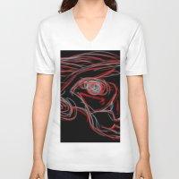 weird V-neck T-shirts featuring Weird by Sean McDaniel