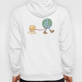 take a walk with the dog Hoody