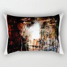 Nights Eyes Rectangular Pillow
