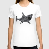 jaws T-shirts featuring Jaws by Lauren Moore