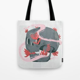death and silence Tote Bag