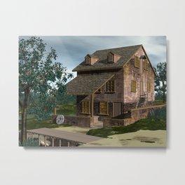 The Gristmill - Batsto NJ Metal Print
