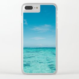 Waterscape #2 Clear iPhone Case