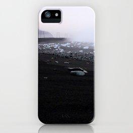 Iceland black beach iPhone Case