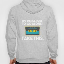 It's Dangerous Cassette Tapes Player Classic Mag Tape Magnetic Tape Gift Hoody