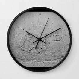 Number 61-B Wall Clock