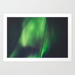 Northern Lights (Aurora Borealis) 9. Art Print