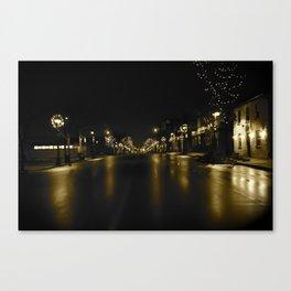 Waterloo @ Night Canvas Print