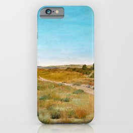 William Merritt Chase - First Touch Of Autumn - Digital Remastered Edition iPhone Case