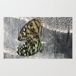 Mating Butterflies Rug