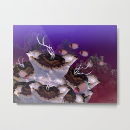 The Jeuter Barrier Reef Metal Print