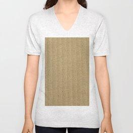 Texture #20 Cardboard Unisex V-Neck