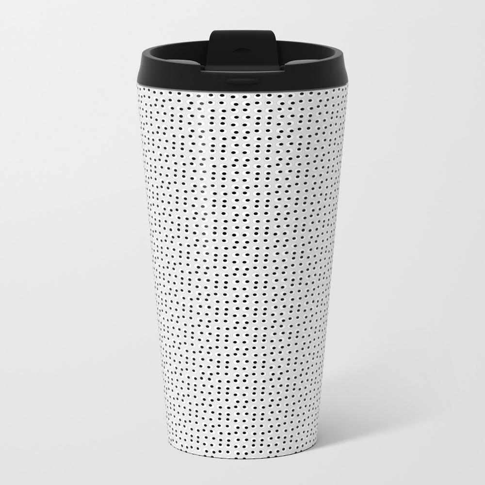 Googly Eyes 001 Metal Travel Mug by Matthewvanguiano MTM7854723