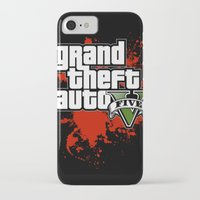 grand theft auto iPhone & iPod Cases featuring grand theft auto 5 by Dan Solo Galleries