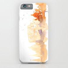 Watercolor landscape illustration_Rome - Colosseum iPhone 6s Slim Case