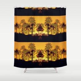 Six Sunsets Shower Curtain