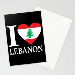 I Love Lebanon Stationery Cards