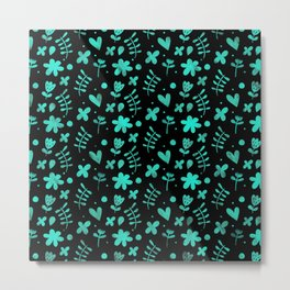 Colorful Lovely Pattern XVII Metal Print