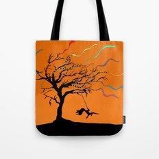 Among the Winds Tote Bag