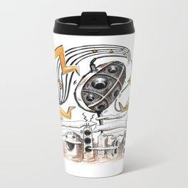 Bassic Coupe Metal Travel Mug
