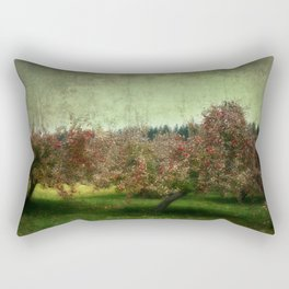Apple Trees Rectangular Pillow