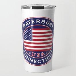 Waterbury, Connecticut Travel Mug