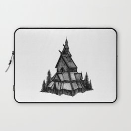 Borgund Stave Church Laptop Sleeve