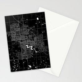 Regina - Minimalist City Map Stationery Cards