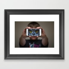 Wise Boy Framed Art Print